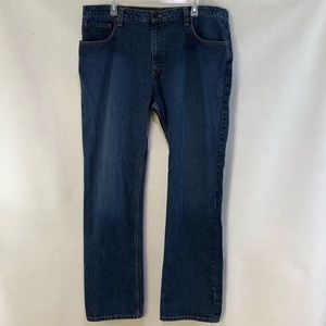 (Men's) Eddie Bauer relaxed fit straight leg jeans